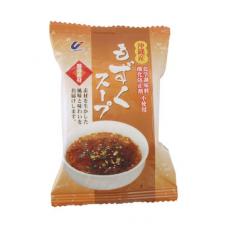 沖縄産もずくスープ